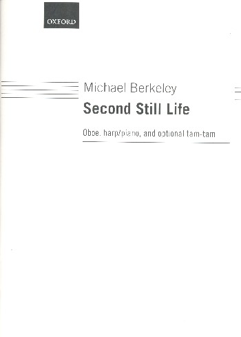 Second still Life: for oboe and harp (piano) (tam-tam ad lib)