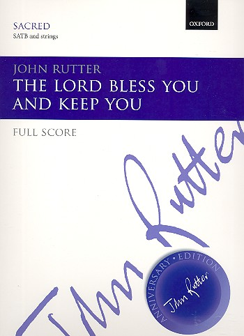 Rutter, John - The Lord bless You and keep You :