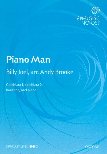 Piano Man: for young male chorus (with cambiata voices) and piano