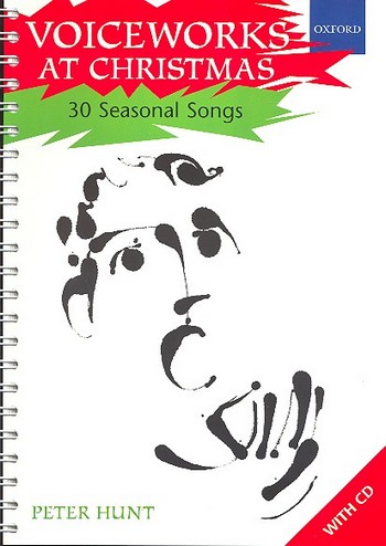 Voiceworks at Christmas (+CD): a further handbook for singing
