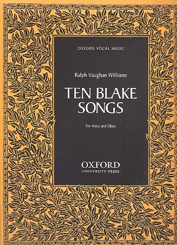 10 Blake Songs: for voice and oboe