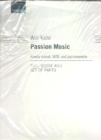 Passion Music: for female gospel soloist, mixed chorus and jazz ensemble