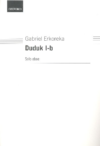 Duduk I-B: for oboe