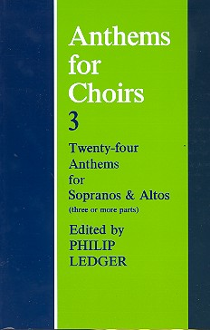 Anthems for Choirs vol.3: for female chorus