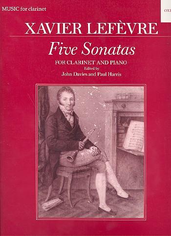 Lefèvre, Jean Xavier - 5 Sonatas  from Methode de