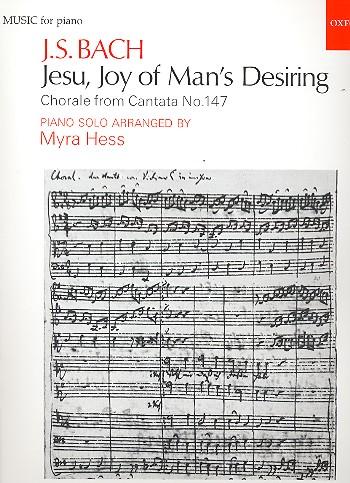 Bach, Johann Sebastian - Jesu Joy of Man's Desiring :