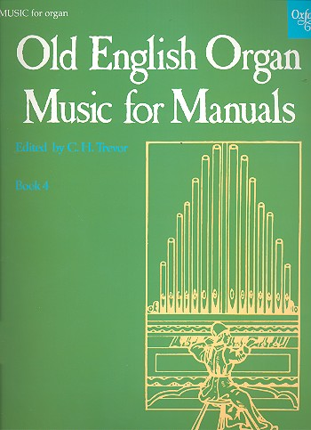 - Old English Organ Music for Manuals