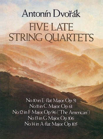 5 late String Quartets nos.10-14 opus.51, opus.61, opus.96 (The American), opus.106