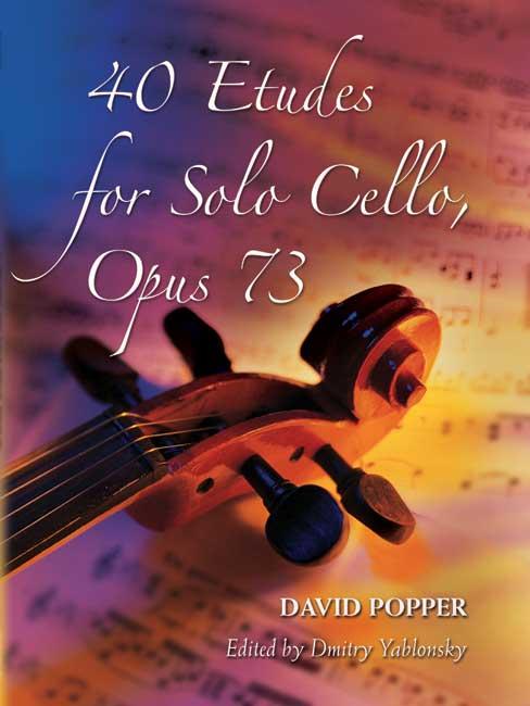40 Etudes opus.73: for violoncello