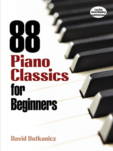88 Piano Classics for Beginners: for easy piano