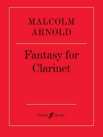 Arnold, Malcolm - Fantasy op.87 : for clarinet solo