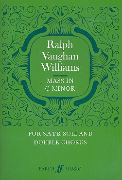 Vaughan Williams, Ralph - Mass g minor :
