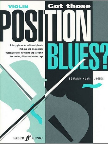 Got those Positions Blues: 9 jazzy pieces for violin and piano in