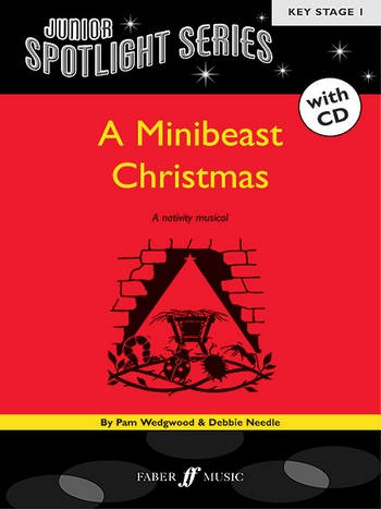 A Minibeast Christmas (+CD): A nativity musical for piano/vocal