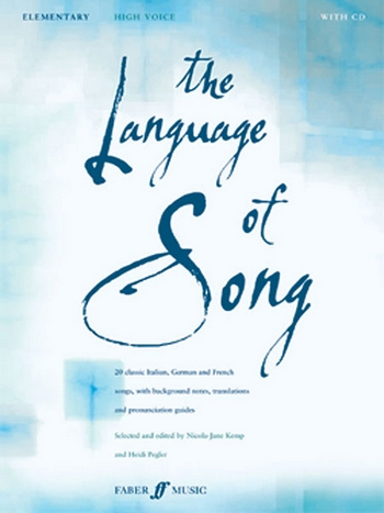 - The Language of Song (+CD) : elementary
