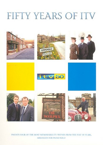 50 Years of ITV: songbook for piano