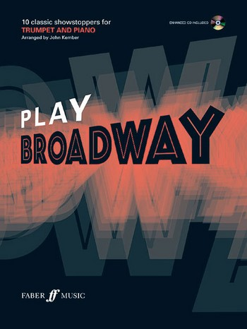 Play Broadway (+CD): for trumpet and piano