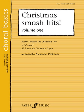 Christmas smash Hits vol.1: for male chorus and piano