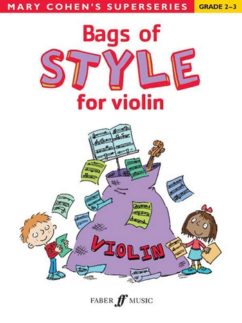 Cohen, Mary - Bags of Style grade 2-3 : for violin