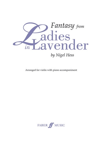 Fantasy from Ladies in Lavender: for violin and piano