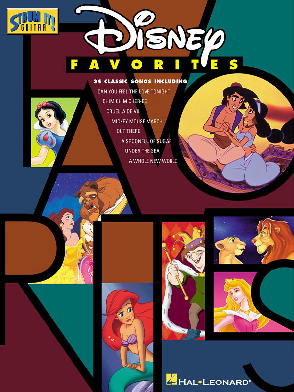 Disney Favorites: 34 classic songs for voice and guitar