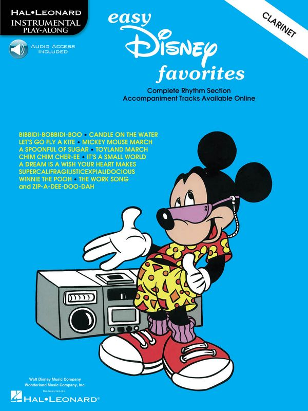 Easy Disney Favorites (+CD): for clarinet