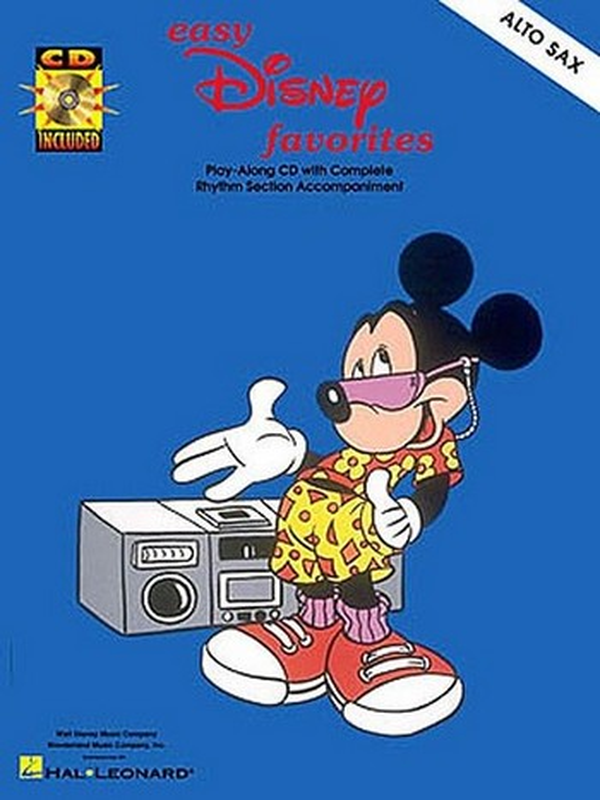 Easy Disney Favorites (+CD): for alto saxophone