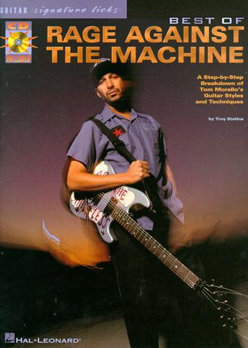 Best of Rage against the Machine (+Cd): a step-by-step breakdown of tom