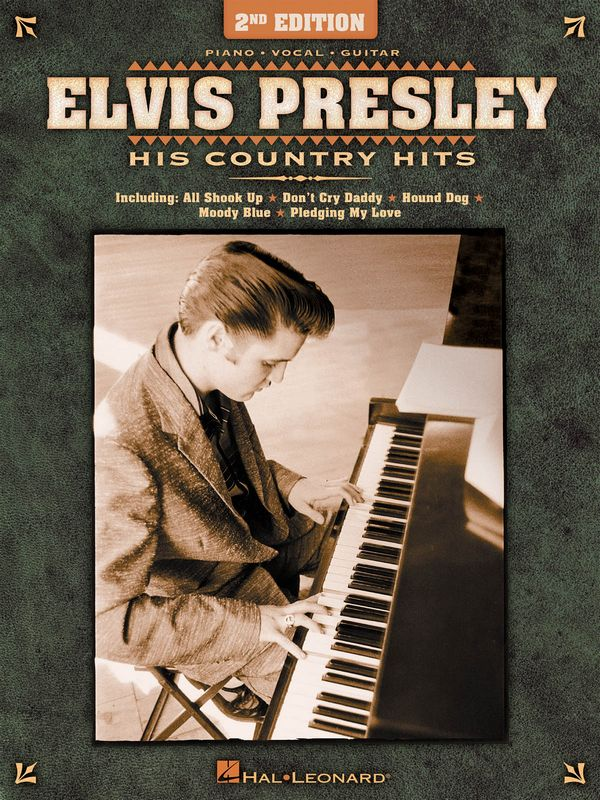 Elvis Presley: His Country Hits: songbook piano/vocal/guitar