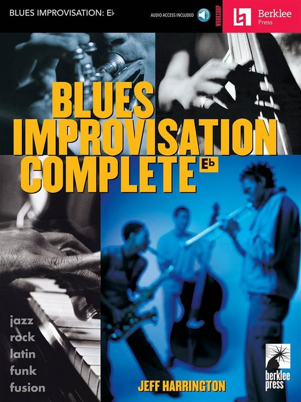 Blues Improvisation Complete (+CD): for es-instruments