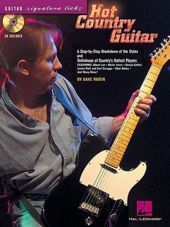 Hot Country (+CD): for guitar/tab Guitar Signature Licks