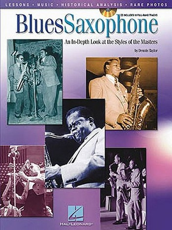 Blues Saxophone (+CD): an in-depth look at the styles of the masters
