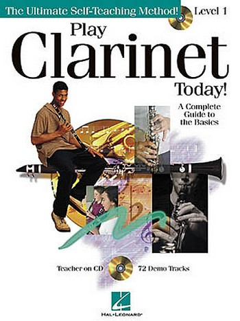 Play clarinet today level 1 (+CD): the ultimate self-teaching method