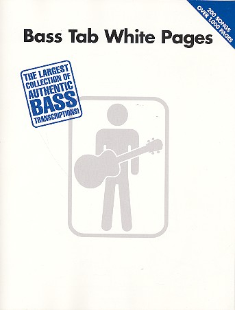 Bass Tab white Pages: 200 Songs over 1000 Pages