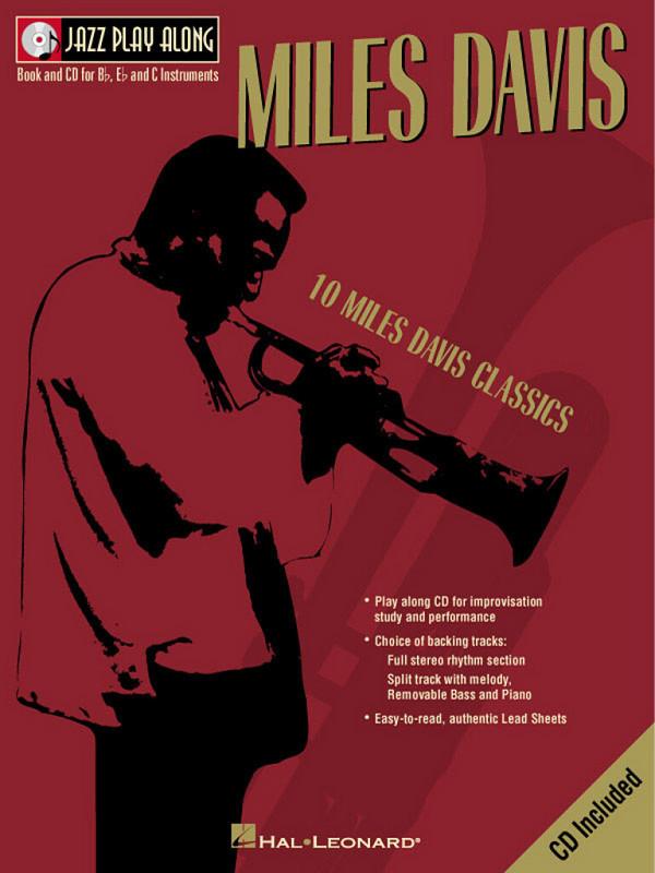 10 Miles Davis Classics (+CD): Jazz play along vol.2
