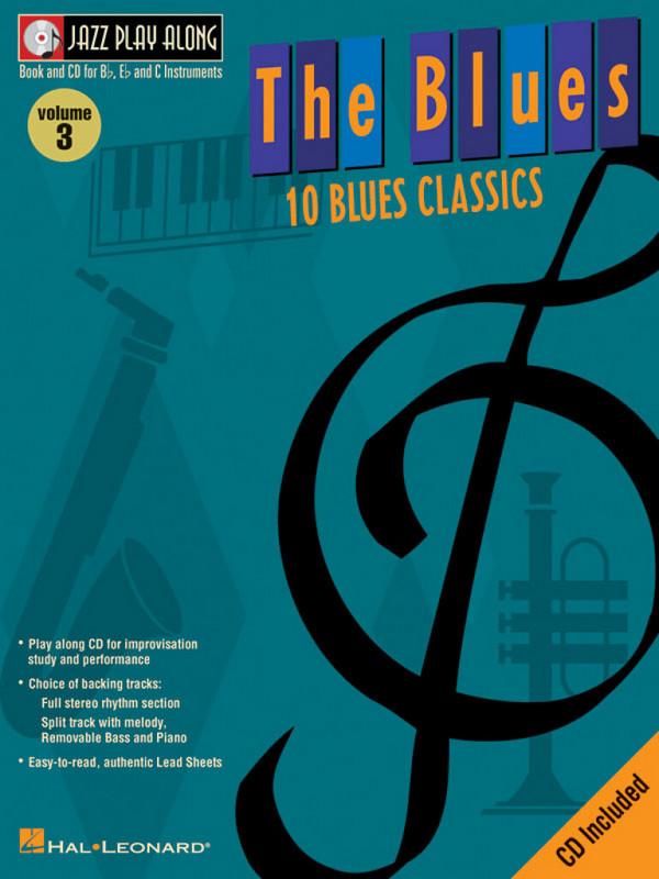 10 Blues Classics (+CD): Jazz Playalong vol.3
