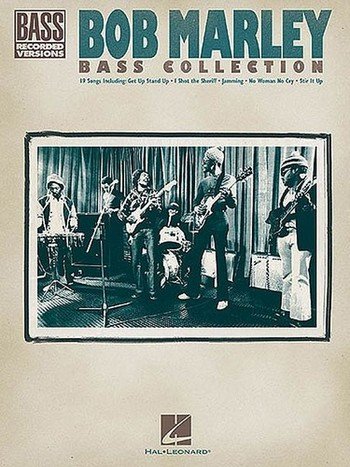 Bob Marley: bass collection songbook bass recorded versions