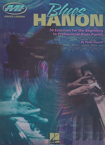 Blues Hanon: 50 exercises for the beginning to
