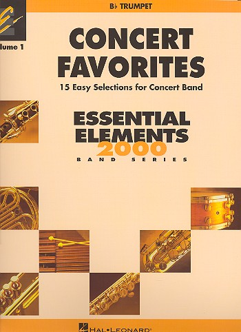 Concert Favorites vol.1: for concert band trumpet