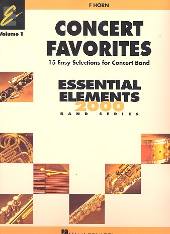 Concert Favorites vol.1: for concert band horn in F