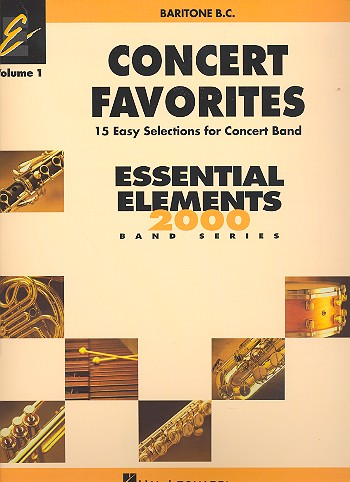 Concert Favorites vol.1: for concert band for bariton bass clef