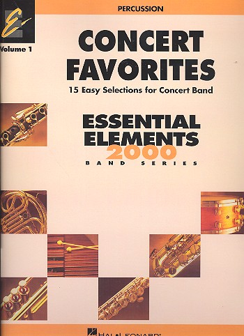 Concert Favorites vol.1: for concert band percussion