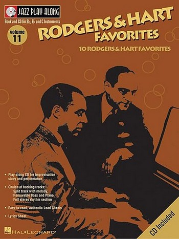 10 Rodgers and Hart Favorites (+CD): for Bb, Eb and C instruments