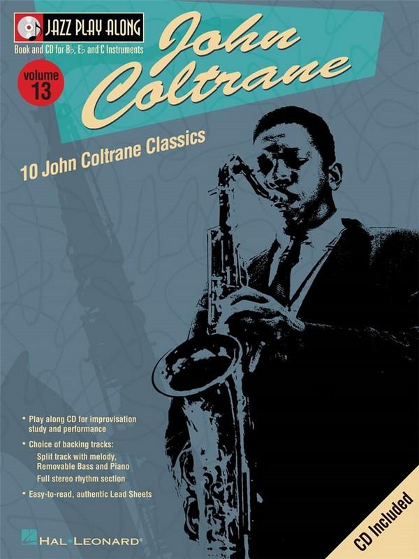 10 John Coltrane Classics (+CD): for b, es and c instruments