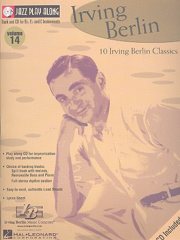 10 Irving Berlin Classics (+CD): jazz play along vol.14