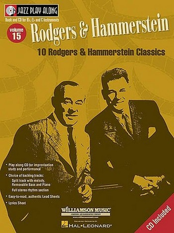 10 Rodgers and Hammerstein classics (+CD): for b, eb and c instruments