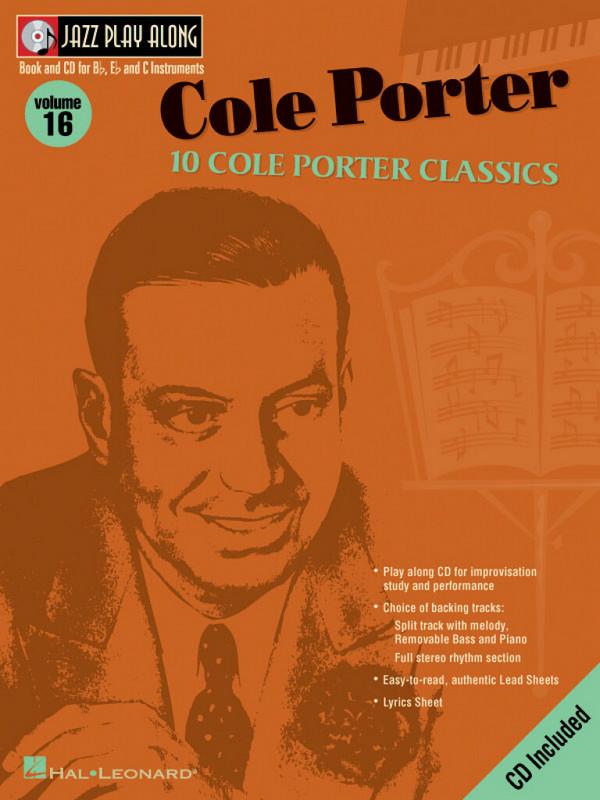 10 Cole Porter Classics (+CD): Jazz Playalong vol.16