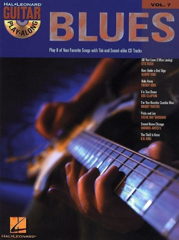 Blues (+CD): guitar playalong vol.7 play 8 of your favorite songs with tab