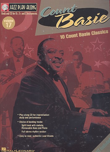 10 Count Basie Classics (+CD): for Bb, Eb and C instruments