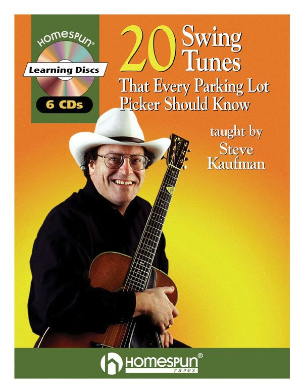 20 Swing tunes (+6CDS): for guitar Kaufman, Steve, ed